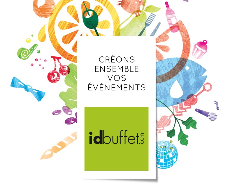 Logo idbuffet-identite visuelle-illustration-style visuel