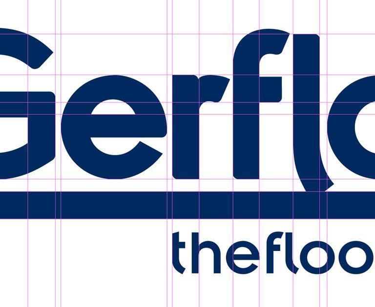 Gerflor-Logotype-Identite visuel-charte graphique.Creation Agence le 6 Paris