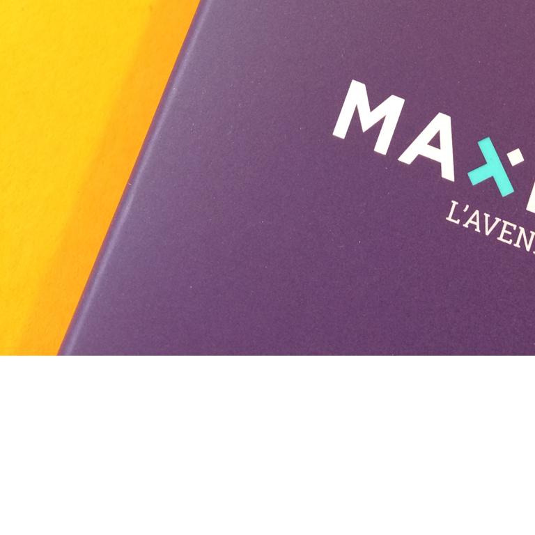 Maximis retraite-Identite visuelle-Logotype-image de marque-Agencele6 Paris-Design Graphique