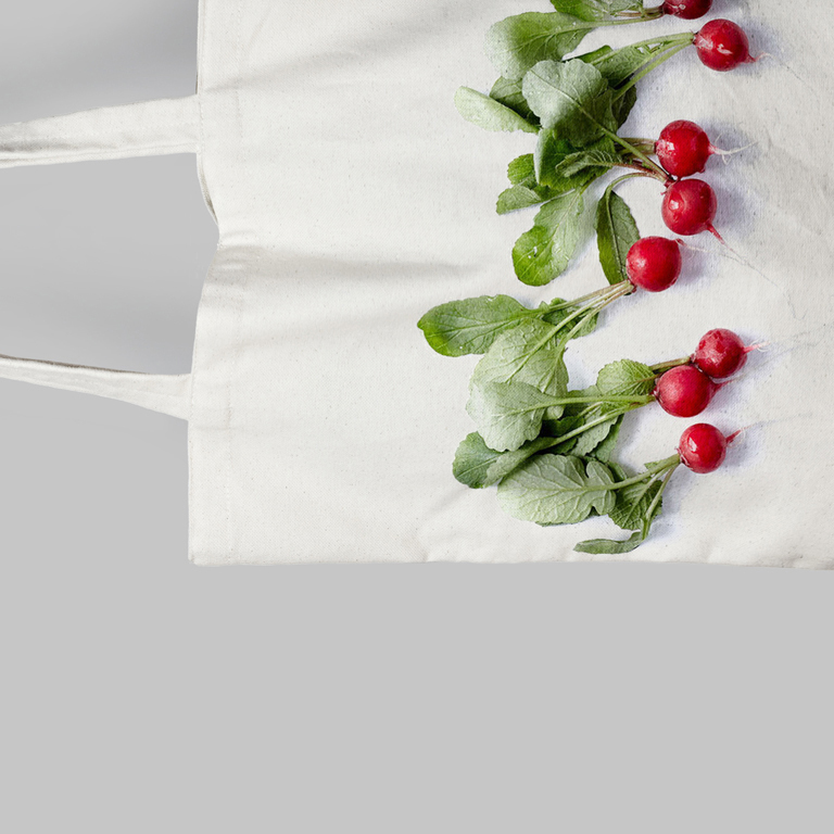 Tote Bag Creation graphique Agence Le 6 Paris Design graphic Identite visuelle concept store